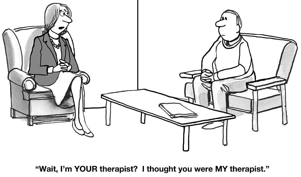Miksi puhua terapeutille?